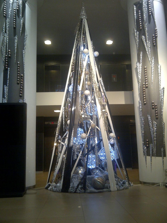 sapin de Noel métal