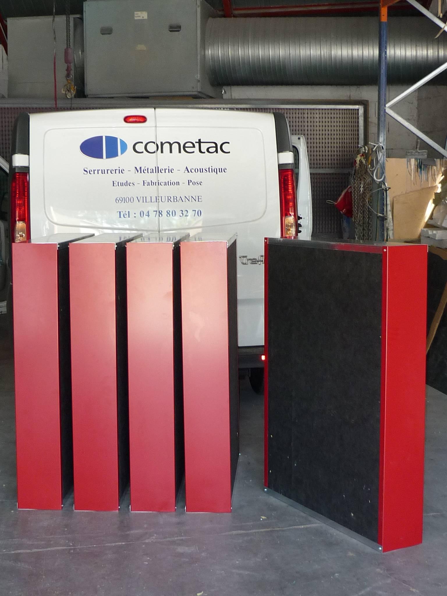 baffles acoustiques sur mesure cometac. Black Bedroom Furniture Sets. Home Design Ideas