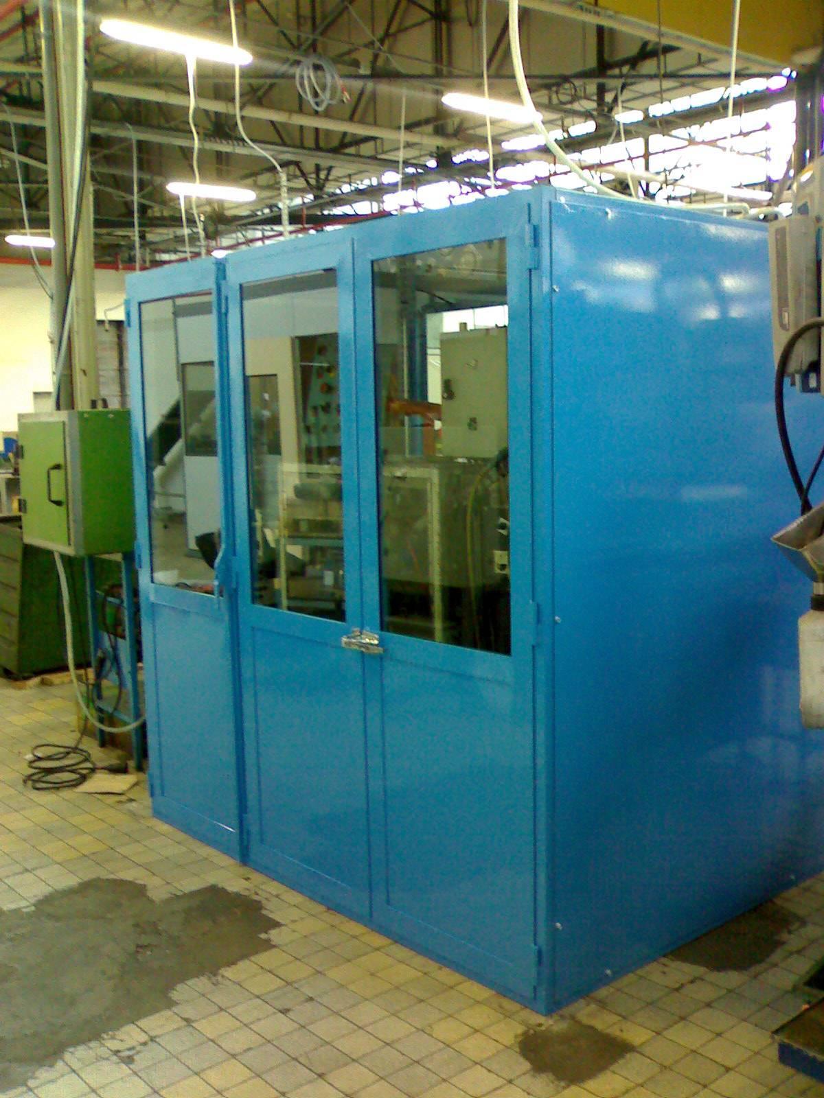 cabine acoustique en milieu industriel