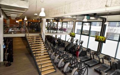 Création d'une mezzanine ERP de 550 m2 dans salle de sport