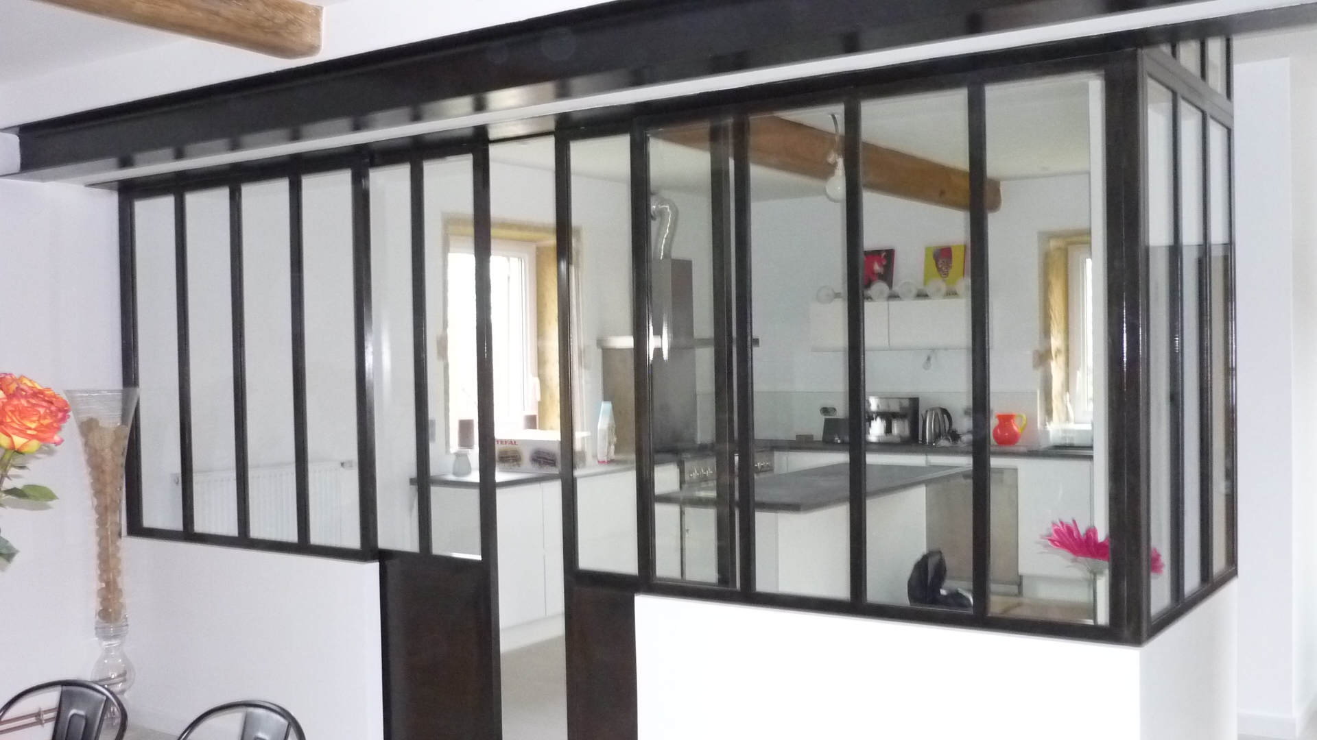 cloisonner une mezzanine avant cloisonner sans travaux cuest possible maison extension. Black Bedroom Furniture Sets. Home Design Ideas