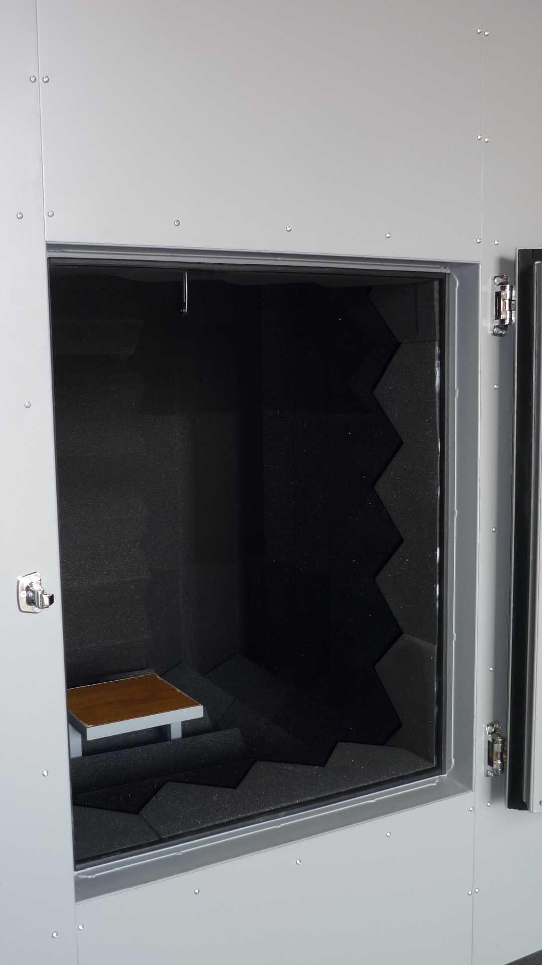 Cabine de test pour mesure acoustique Chambre sourde