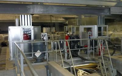 Capotage Acoustique moteurs téléphérique – Avoriaz (74)