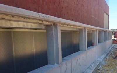 Traitement acoustique -Station de pompage à Mauguio (34)