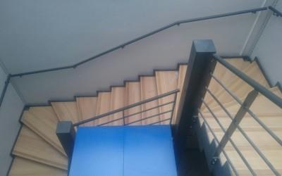 Escalier métallique 3 niveaux – SNCF Bellegarde sur Valserine (01)