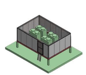 écran acoustique toiture
