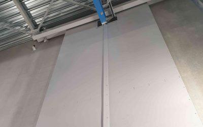 Porte acoustique industrielle sur mesure